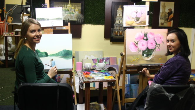 Art classes in NYC oil painting for audlts