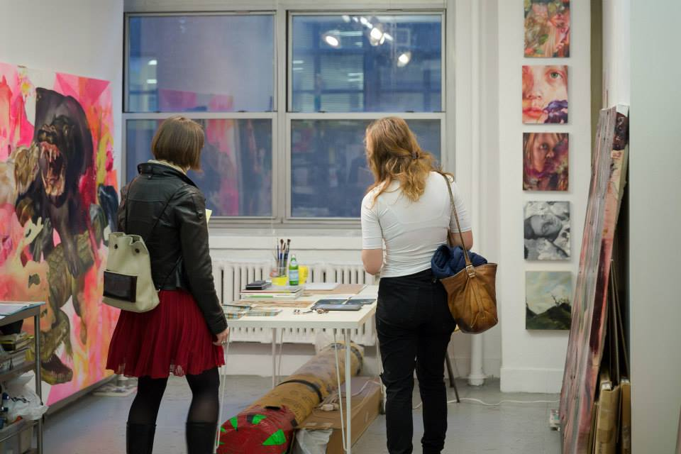 Art-studio-in-manhattan-hosts-Andrew-Schwarz-`s -exhibition
