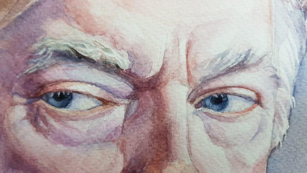 Trump-portrait details