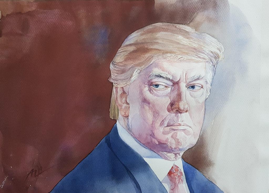 Trump-portrait-by-Alexander-Zastanchenko