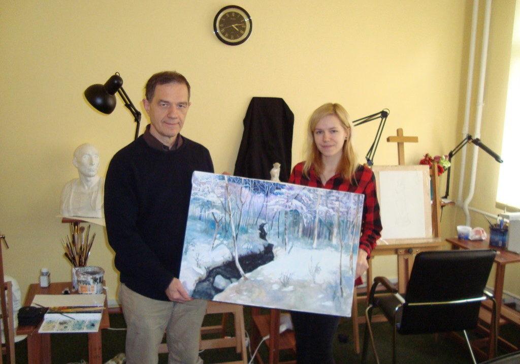 Alexander Lanser - Leading artist - CO-founder Artacademy-USA